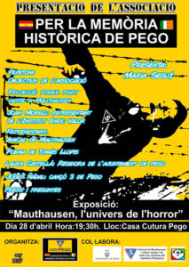 Presentació de l'Associació per a la Memòria Històrica -Pego- @ Casa de Cultura (Pego)