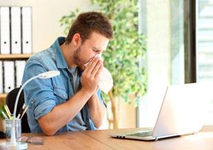 ¿Alergia al trabajo? No es solo cosa de vagos