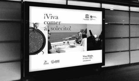 El metro de Madrid difunde la marca turística Dénia