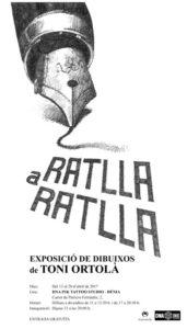 Exposició: Ratlla a ratlla de Toni Ortolà Martí -Dénia- @ DNA INK Tattoo Studio | Dénia | Comunidad Valenciana | España