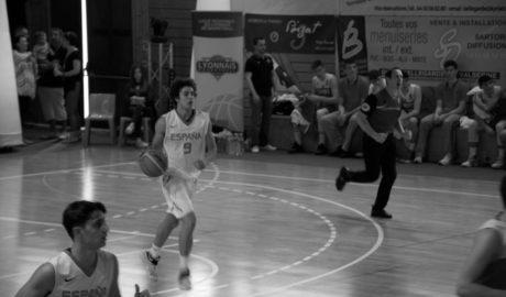 Daniel Pérez, primer dianense en debutar en una Selección Española de baloncesto