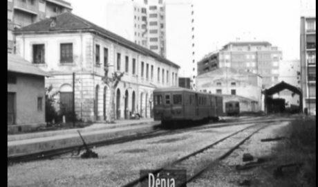 Cartas de amor y películas de cuando el tren llegaba a Dénia todos los días