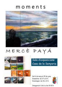 Exposició de pintura: 'Moments' de Mercé Payà -Orba- @ sala d'exposicions Casa Senyoria, Orba