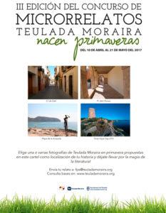Inscripción para el III concurso de microrrelatos de Teulada Moraira