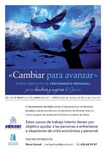"""Taller de evolución personal """"Cambiar para avanzar"""" -Xàbia- @ Centro Social Municipal"""