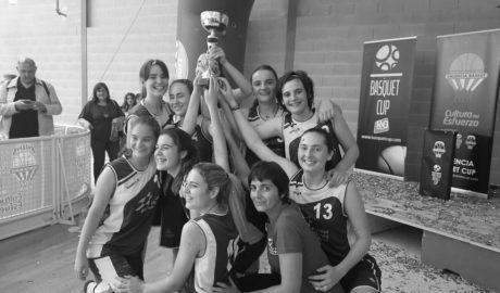 El cadete femenino del Bàsquet Pedreguer, campeón del torneo Valencia Basket Cup