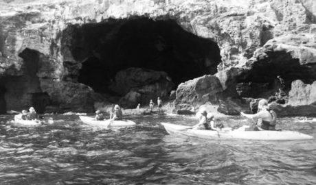 Dénia y Xàbia pactan con el Montgó y las empresas turísticas reducir a la mitad el acceso de embarcaciones a la Cova Tallada