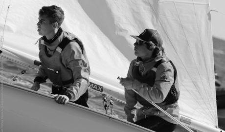 Los hermanos Luján y la pareja Sebastia-Miñana suben al podio en el Gran Trofeo de Vela Ligera de Valencia