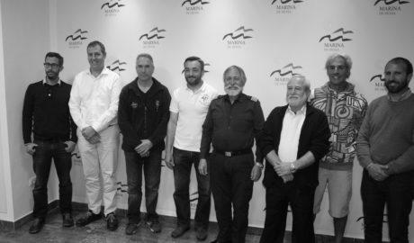 La Marina de Dénia presenta sus cinco clubes deportivos