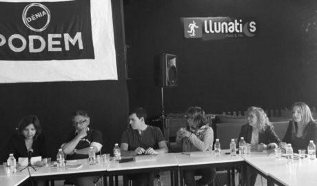 Dénia acoge el debate de las candidaturas para la asamblea ciudadana de Podem