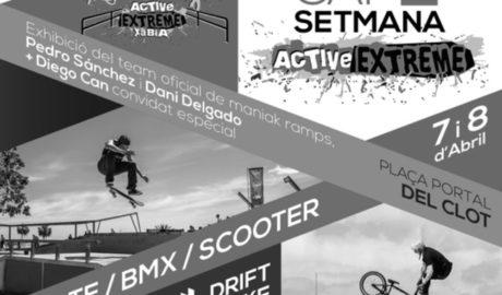 El Active Extrem llega a Xàbia para llenar de adrenalina a los jóvenes de la localidad