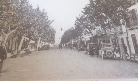 Cien años de la apertura de la calle Marqués de Campo al mar de Dénia