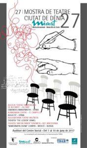 Teatro: 'Reencuentros' por la Escola de Teatre Comarcal.  XXVII Mostra de Teatre 'Ciutat de Dénia' @ Teatre Auditori del Centre Social, Dénia