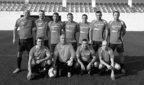 Sinergia Caçadors Pego, únic equip que encara pot competir amb Kamarca per la Lliga de Futbol Veterans