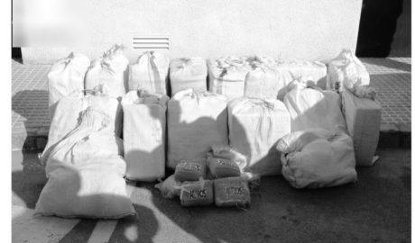 Veleros cargados de cocaína en el puerto de Dénia