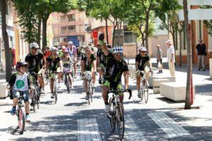 Recepción a los ciclistas franceses de la carrera solidaria en pro de Condenados al Bordillo -Dénia- @ Dénia
