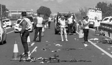 Prisión provisional sin fianza para la conductora que mató a dos ciclistas de Xàbia e hirió a otros tres