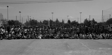 200 alumnes de Dénia participen en la III Trobada Escolar de Colpbol