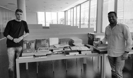 La biblioteca del Verger ingressa 60 llibres dels fons de l'IVAM