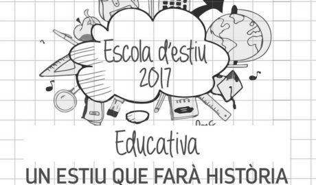 Ondara obri la matrícula per a les Escoles d'Estiu 2017