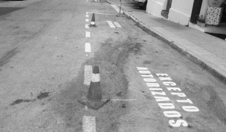 Ahora ya no hay excusa para «confundirse» aparcando en Les Roques de Dénia