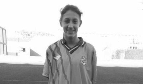 Gran partit de la futbolista deniera Fiamma Benítez amb la Selecció Valenciana Sub 14