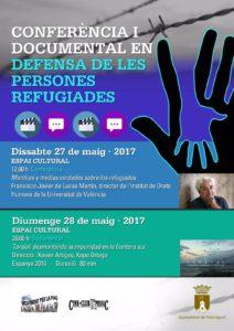 """Conferencia: """"Mentiras y medias verdades sobre los refugiados"""" por Francisco Javier de Lucas Martín -Pedreguer- @ Espai Cultural, Pedreguer"""