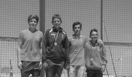 Una plata y un bronce para el Real Club Náutico Dénia en la Copa de España de Kayak de Mar