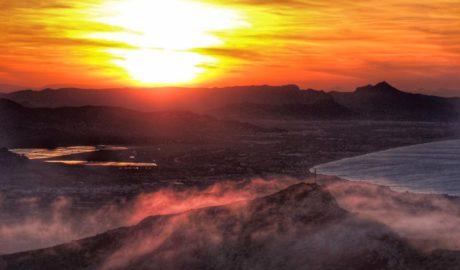 [LA FOTO] Atardecer desde la cima del Montgó, de Manu Robles