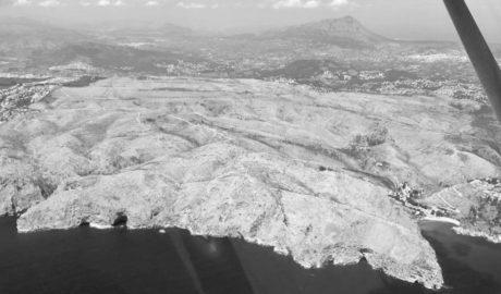 [GALERÍA] El desierto de la Granadella visto desde el aire 8 meses después del desastre