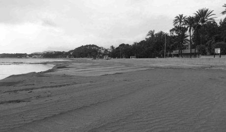 Dénia concluye la adecuación de la Marineta Cassiana tras el aporte de 700 toneladas de arena