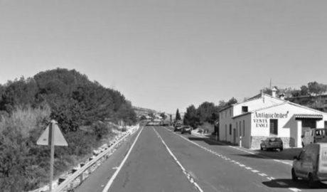 Nuevo accidente mortal en la N-332: fallece un motorista al chocar con un coche en Benissa