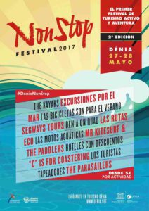 'Non Stop Festival': actividades de ocio en tierra y mar -Dénia- @ Dénia