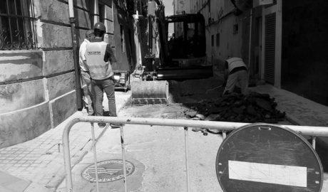 Ajornada la peatonalització dels carrers Fontanella, Port i Pilota, a Dénia