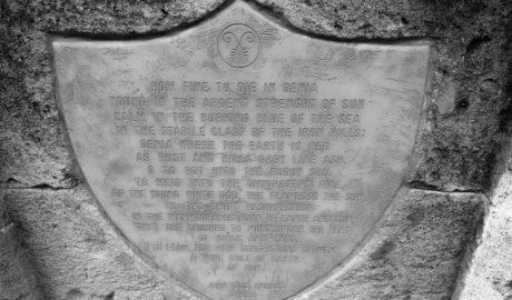 Dénia al fin rinde homenaje al poema con el que John Dos Passos inmortalizó la ciudad en 1916