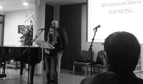 El IES Xebic de Ondara entrega los premios a los ganadores de la 2ª Edición del Concurso Literario