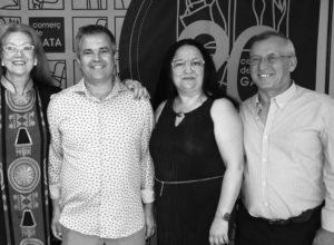 """El comercio de Gata celebra sus 20 años de unión y """"lucha por un pueblo"""""""