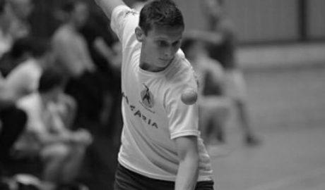 Sacha Kruithof es lesiona i es veu obligat a abandonar en el Campionat d'Espanya de Frontball