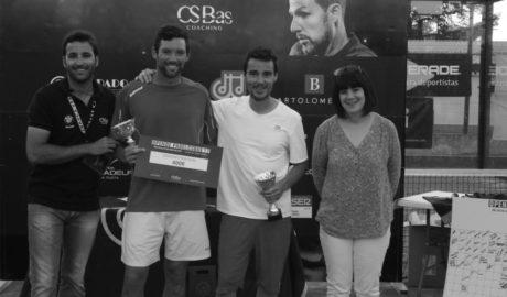 Javier Martínez i Oliver White guanyen l'Open Pàdel CSBas