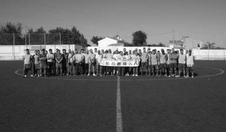 El CD Jávea se despide de la liga con victoria y con un emotivo homenaje hacia los ciclistas de Xàbia fallecidos