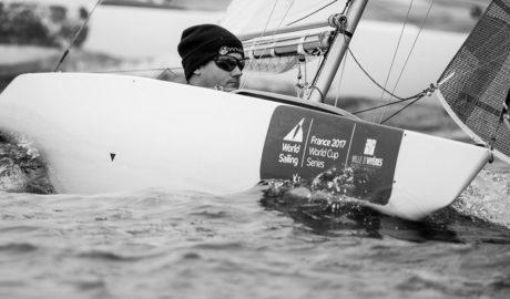 Rafa Andarias logra un meritorio quinto puesto en el Sailing World Cup Series