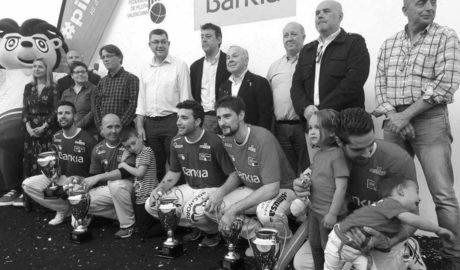 Fèlix i el seu equip guanyen la Lliga Professional d'Escala i Corda