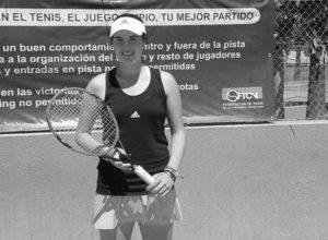 La tenista dianense Andrea Redondo se clasifica para el Campeonato de España de categoría infantil