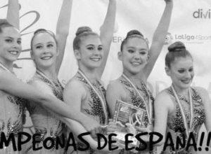 El conjunto cadete del Club Gimnasia Calpe, Campeón de España