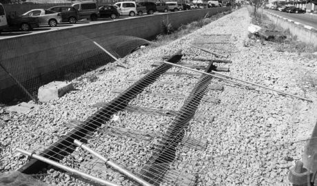 Adiós al vallado del tren en el casco urbano de Dénia