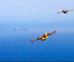 """""""Lluvia en las alas"""", las fotografías del incendio de Xàbia-Benitatxell premiadas por el Ministerio de Defensa"""