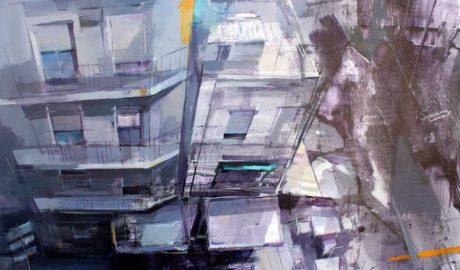 El alcoyano David Escarabajal vuelve a triunfar en el Concurs de Pintura Ràpida Ciutat de Dénia