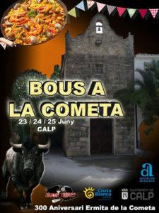 Festes de Sant Joan a la Cometa -Calp-