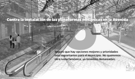 Una plataforma cívica se opone a las escaleras mecánicas de Calp por ser «una ruina faraónica»