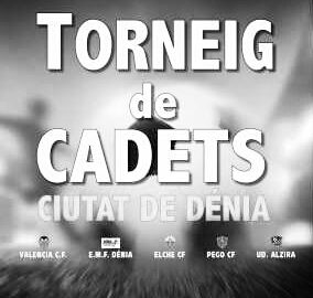 Seis equipos cadetes, entre ellos el Valencia CF, participarán en el Torneig Ciutat de Dénia